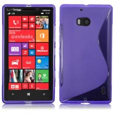 Синий силиконовый чехол для Nokia Lumia 930