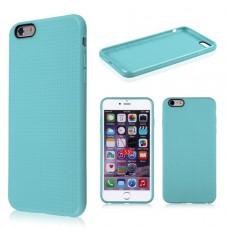 Синий силиконовый чехол для IPhone 6 Plus
