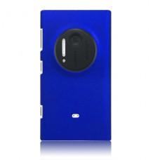 Синий пластиковый чехол для Nokia Lumia 1020