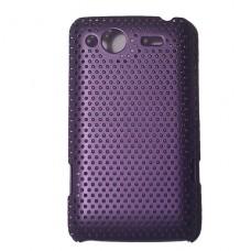 Чехол - бампер фиолетовый для HTC Salsa