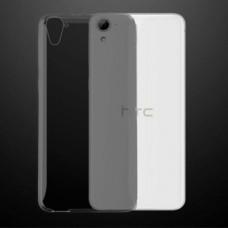 Черный (темно-прозрачный) силиконовый чехол для HTC Desire 828