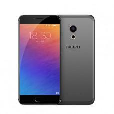 Черный (темно-прозрачный) силиконовый чехол для Meizu Pro 6