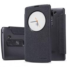 Черный чехол книжка Nillkin для LG G4