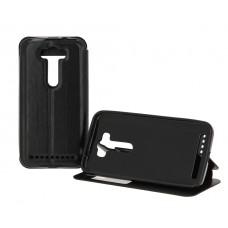 Черный чехол-книжка для Asus ZenFone 2 Lazer ZE500KL