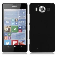 Черный пластиковый чехол для Nokia Microsoft Lumia 950