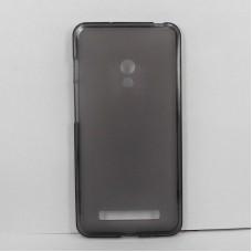 Черный силиконовый чехол для Asus Zenfone 5