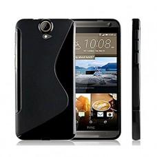 Черный силиконовый чехол для HTC E9 Plus