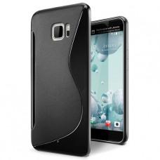 Черный силиконовый чехол для HTC U Ultra