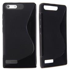Черный силиконовый чехол для Huawei Ascend G6