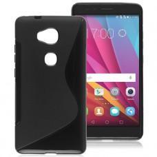 Черный силиконовый чехол для Huawei Honor 5x