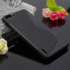 Черный силиконовый чехол для Huawei Honor 6 plus