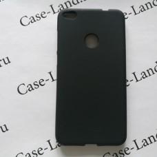 Черный силиконовый чехол Для Huawei Honor 8 lite/P8 lite 2017