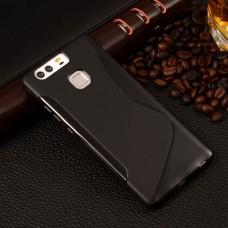 Черный силиконовый чехол для Huawei P10
