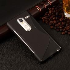 Черный силиконовый чехол для LG Class (H740)