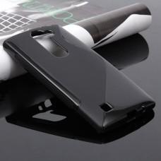 Черный силиконовый чехол для LG Magna