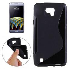 Черный силиконовый чехол для LG x cam