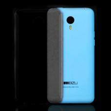 Черный силиконовый чехол для Meizu M2 Note