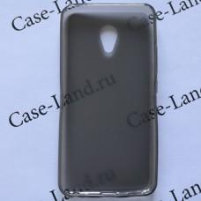 Черный силиконовый чехол для Meizu M5