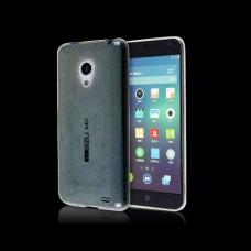 Черный силиконовый чехол для Meizu MX3
