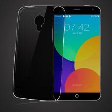 Черный силиконовый чехол для Meizu MX4