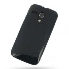 Черный силиконовый чехол для Motolola Moto G dvx