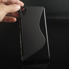 Черный силиконовый чехол для Sony Xperia X Perfomance