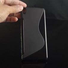 Черный силиконовый чехол для Sony Xperia XA