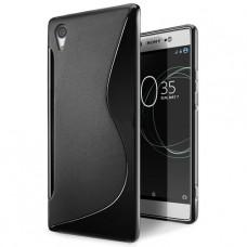 Черный силиконовый чехол для Sony Xperia XA1 Ultra