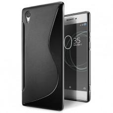 Черный силиконовый чехол для Sony Xperia XA1