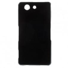 Черный силиконовый чехол для Sony Xperia Z3 Compact