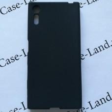 Черный силиконовый чехол для Sony Xperia XZ/XZs