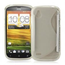 Прозрачный силиконовый чехол для HTC Desire V