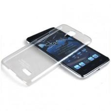 Прозрачный пластиковый чехол - бампер Imak для Alcatel One touch idol (6030d)