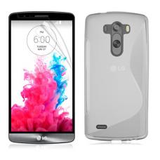 Прозрачный силиконовый чехол для LG G3 s