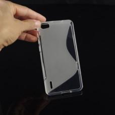 Прозрачный силиконовый чехол для Huawei Honor 6