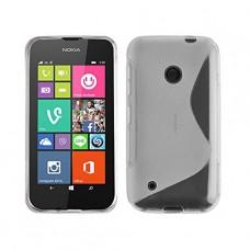 Прозрачный силиконовый чехол для Nokia Lumia 530