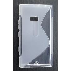 Прозрачный силиконовый чехол для Nokia Lumia 900