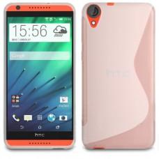 Прозрачный силиконовый чехол для HTC Desire 820
