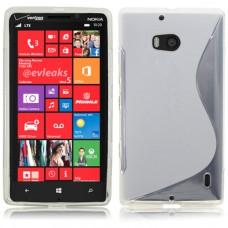Прозрачный силиконовый чехол для Nokia Lumia 930