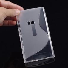Прозрачный силиконовый чехол для Nokia Lumia 920