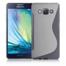Прозрачный силиконовый чехол для Samsung Galaxy A5