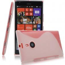 Прозрачный силиконовый чехол для Nokia Lumia 1520