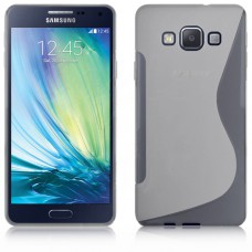 Прозрачный силиконовый чехол для Samsung Galaxy A7