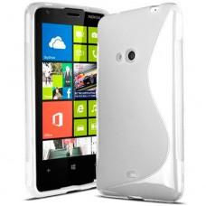 Прозрачный силиконовый чехол для Nokia Lumia 625