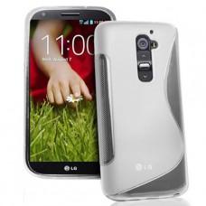 Прозрачный силиконовый чехол для LG Optimus G2 mini