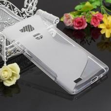 Прозрачный силиконовый чехол для Huawei Ascend Mate 7