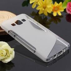 Прозрачный силиконовый чехол для Samsung Galaxy A3