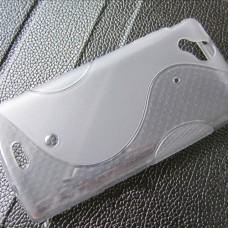Прозрачный силиконовый чехол для Sony Xperia Arc S