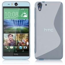 Прозрачный силиконовый чехол для HTC Desire Eye