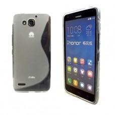 Прозрачный силиконовый чехол для Huawei Honor 3X